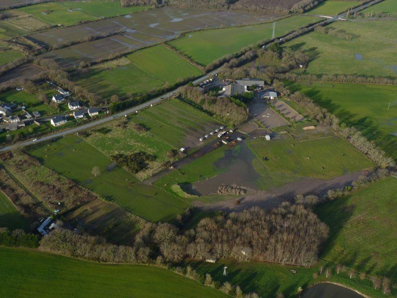 Centre équestre Les Ecuries de Kerdando à Guérande - Vue aérienne