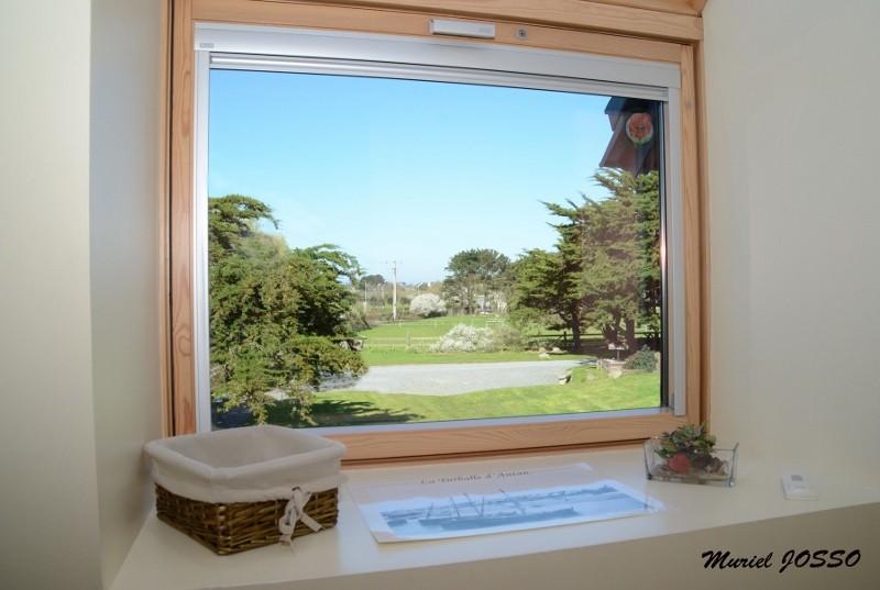 Chambres d'hôtes Polohan - vue jardin
