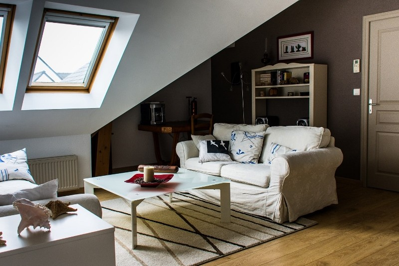 Chez M. et Mme Estreguil - chambre d'hôtes à Piriac sur Mer - salon mezzanine