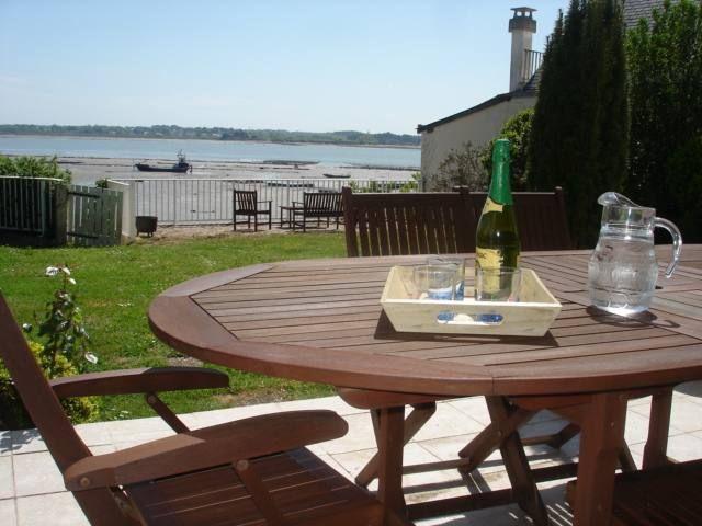 Chez Mme Legal, chambre d'hôtes proche de l'océan atlantique en Brière - Terrasse vue mer