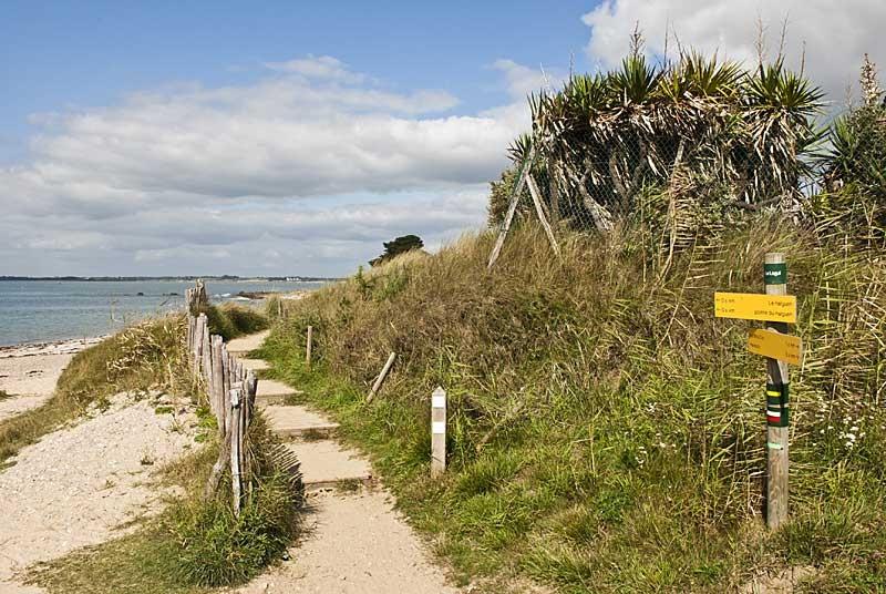 Circuit entre mer et vilaine: Pénestin, sentier côtier
