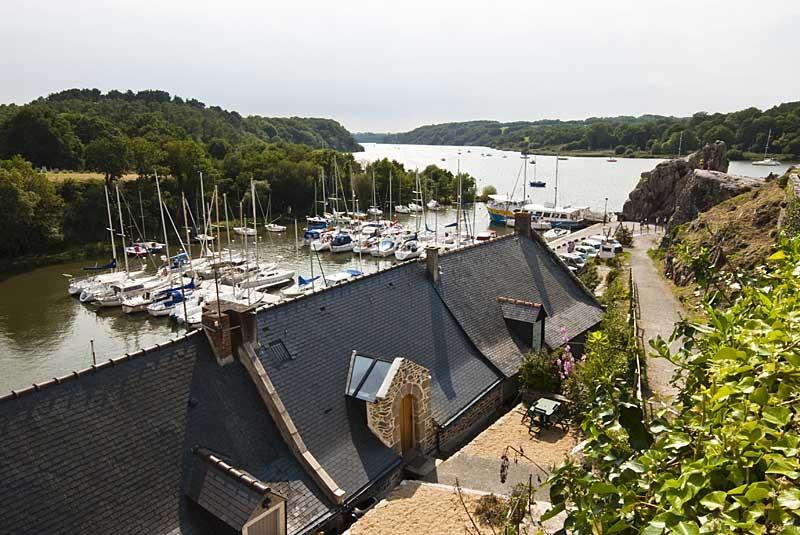 Circuit les bords de Vilaine: La Roche-Bernard, vue du port
