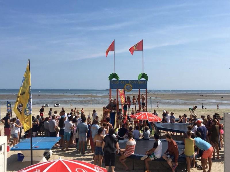 Club de plage Les Korrigans  - La Baule