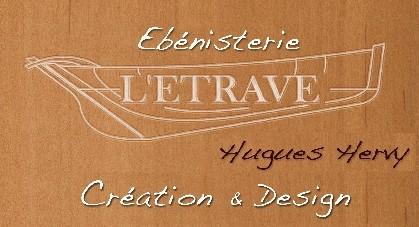 Ebénisterie L'Etrave à La Turballe - Logo