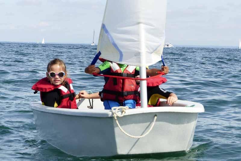 ecole de voile nautisme en pays blanc - 1 - piriac sur mer bretagne plein sud