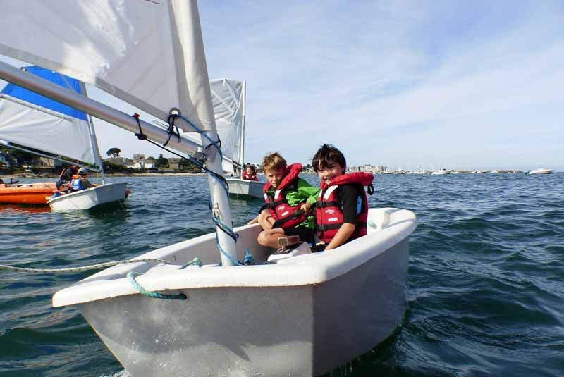 ecole de voile nautisme en pays blanc - 11 - piriac sur mer bretagne plein sud