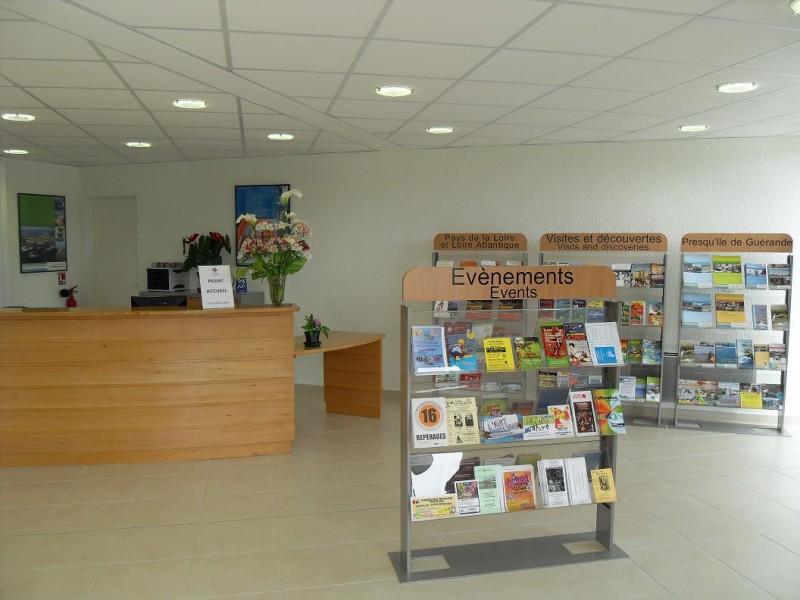 L'espace accueil de l'Office de Tourisme du Pouliguen