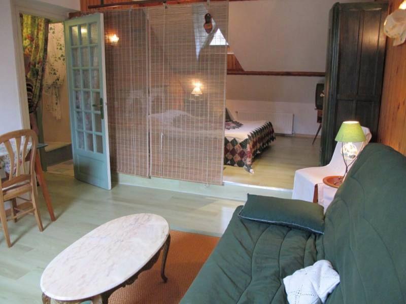 Espace salon d'une des chambres d'hôtes situées à La Chapelle des Marais en Brière