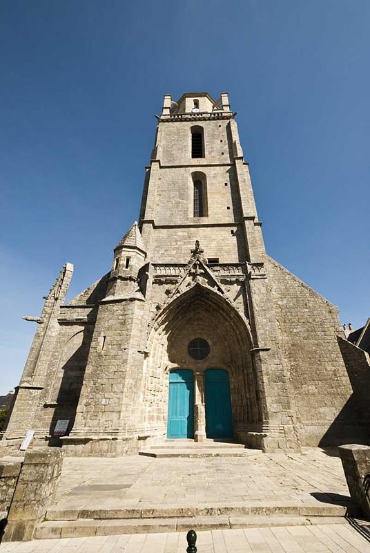 Façade de la Tour Saint-Guénolé