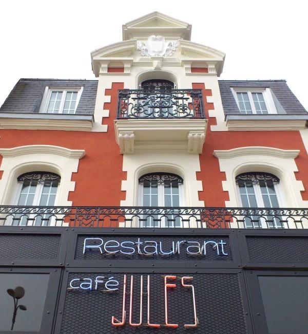 Restaurant Le Café Jules au Pouliguen - façade