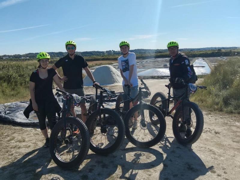 Fat Bike - Adventure 44 Guérande - sortie en famille