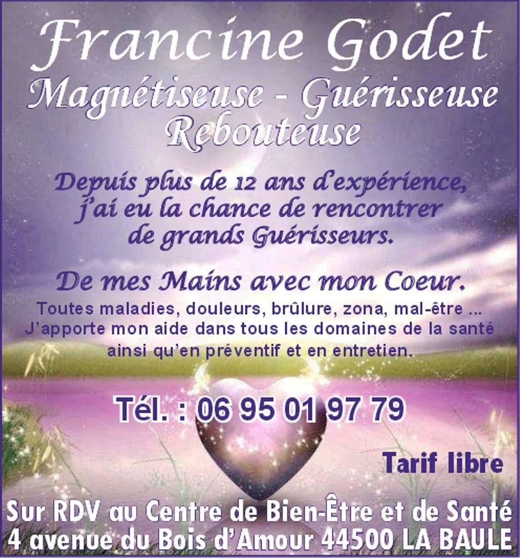 Francine Godet - Magnétiseur - La Baule