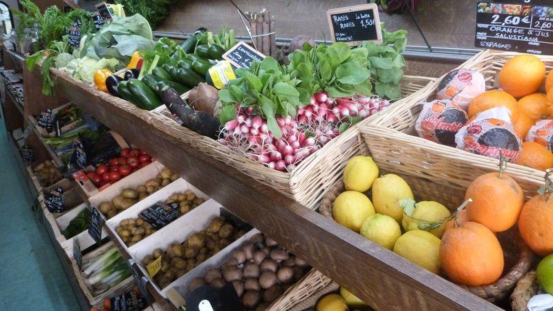 Fruits et légumes Jardin des saveurs