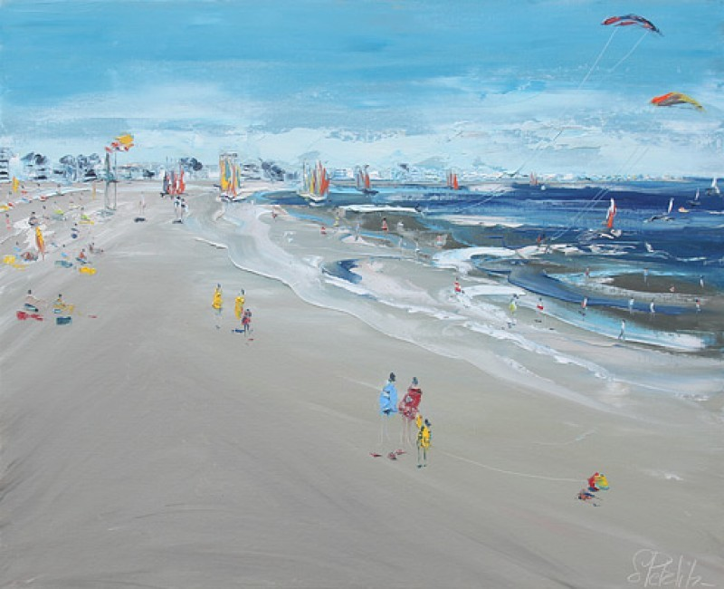 Galerie de la Vague à l'Art à La Baule - Tableau