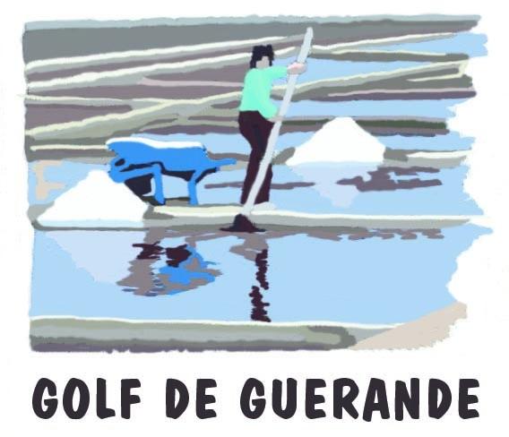 Golf de Guérande - Logo