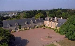 Guérande-Château de Careil-Vue aérienne
