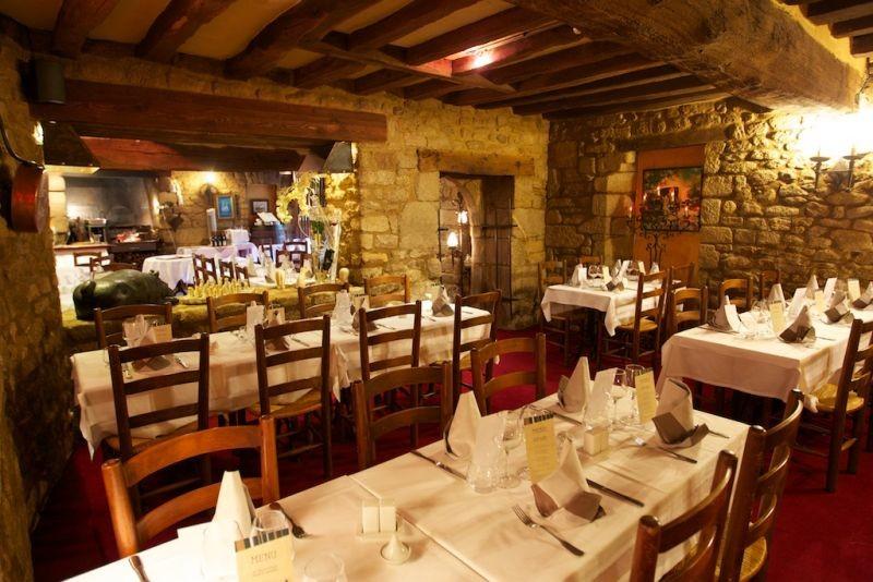 Guérande Intra-muros - Restaurant le Vieux Logis - Grill au feu de bois - Intérieur