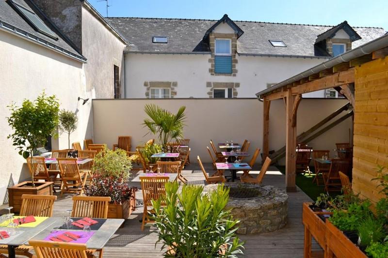 Guérande - La Tablée d'Adeline - Restaurant Bar à vins Tapas - Espace extérieur