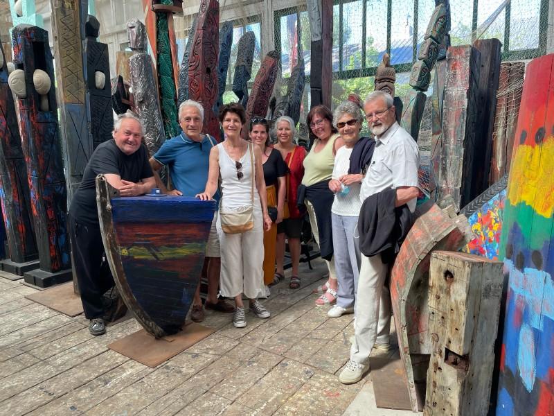 Immersion dans l'univers d'un artiste baulois - OTI La Baule-Presqu'île de Guérande
