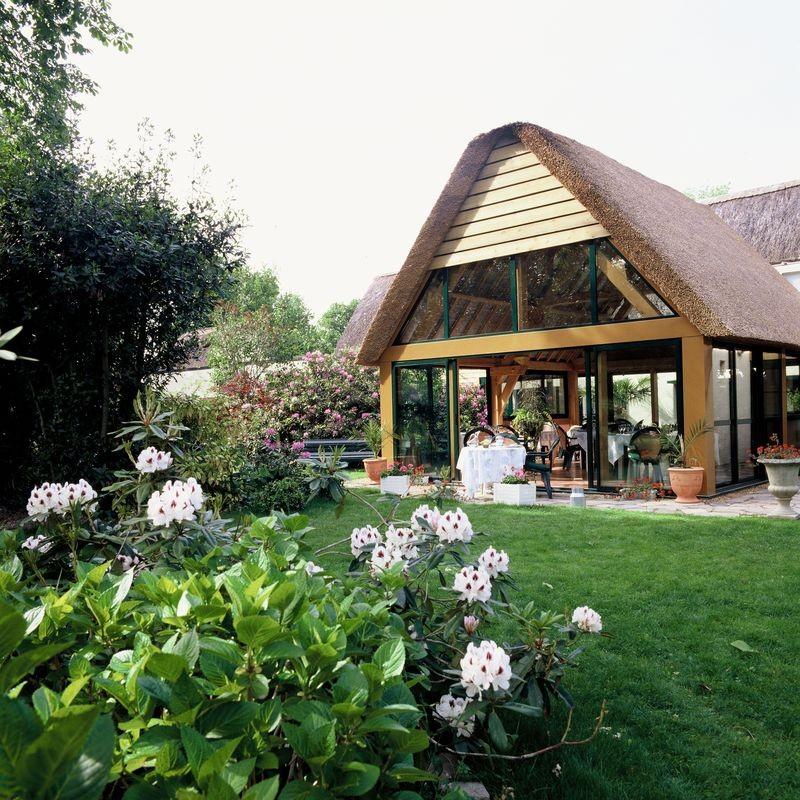 Jardin - Auberge de Bréca - St Lyphard - Parc Naturel régional de la Brière