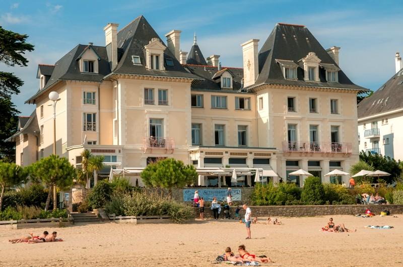 La Baule - Hôtel La Villa Caroline - Vue depuis la plage