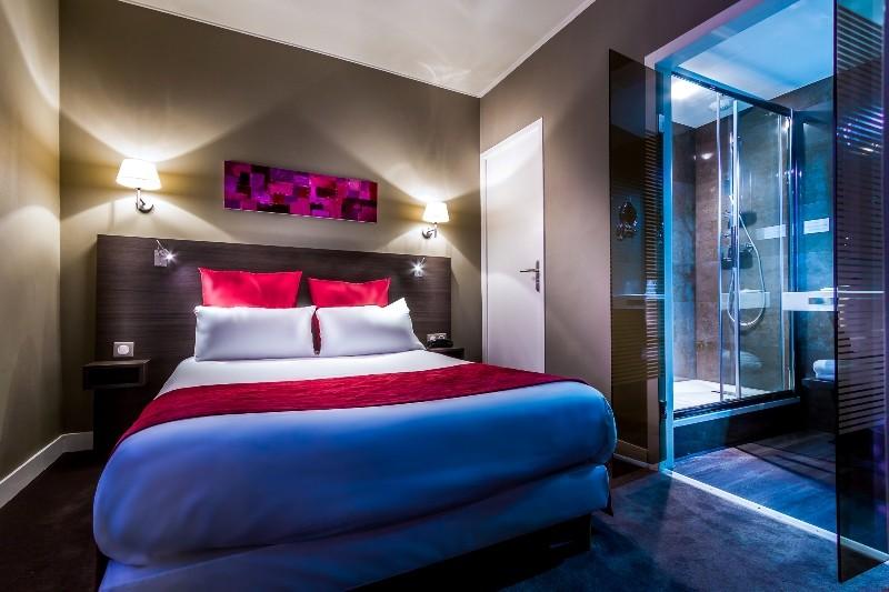 La Baule - Hôtel Les Dunes - Chambre avec lit double