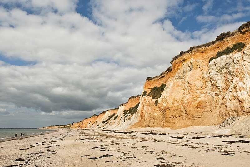 La Mine d'Or de Pénestin vue de la plage