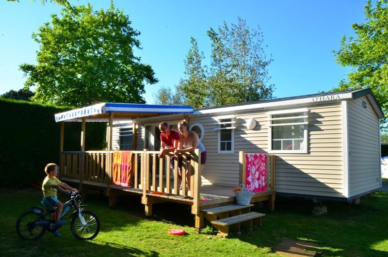 la Roseraie - Camping - La Baule - locatif