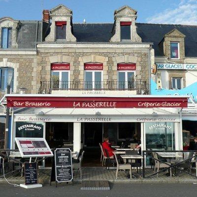 La Turballe - Brasserie Crêperie La Passerelle - Terrasse