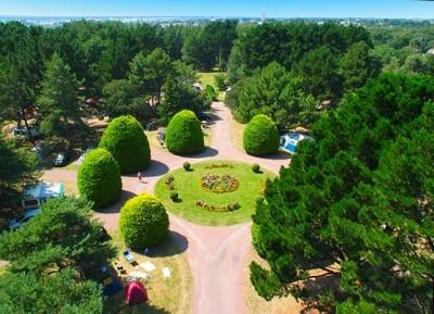 La Turballe - Camping Parc Sainte Brigitte - Vue du ciel
