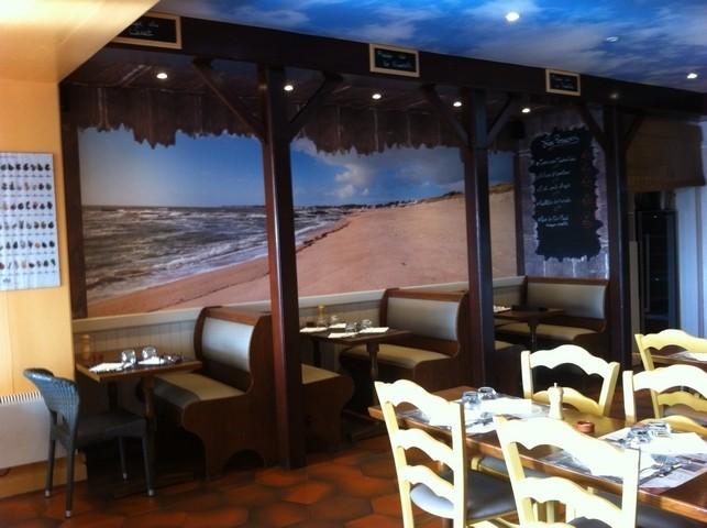 La Turballe - Restaurant Le Tourlandroux - Intérieur