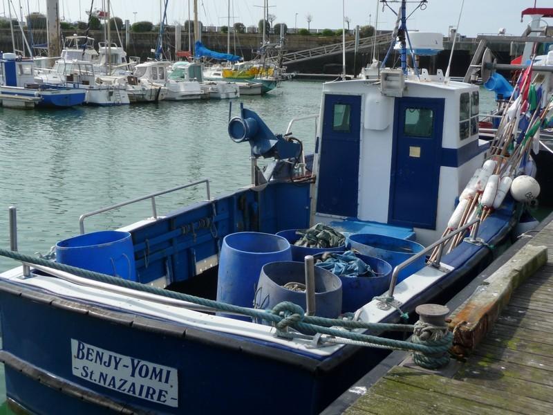 01-Le Benjy Yomi : bateau sortie et initiation pêche en mer La Turballe