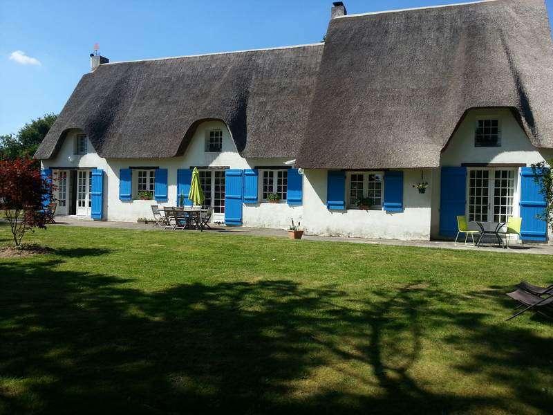 Les Nymphéas, chambre d'hôtes dans une chaumière en Brière  proche Kerhinet