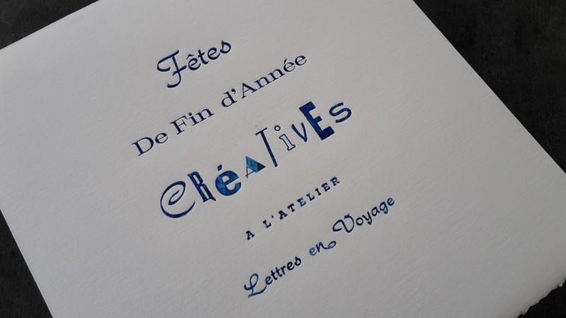 Lettres en Voyage - ateliers créatifs - La Baule
