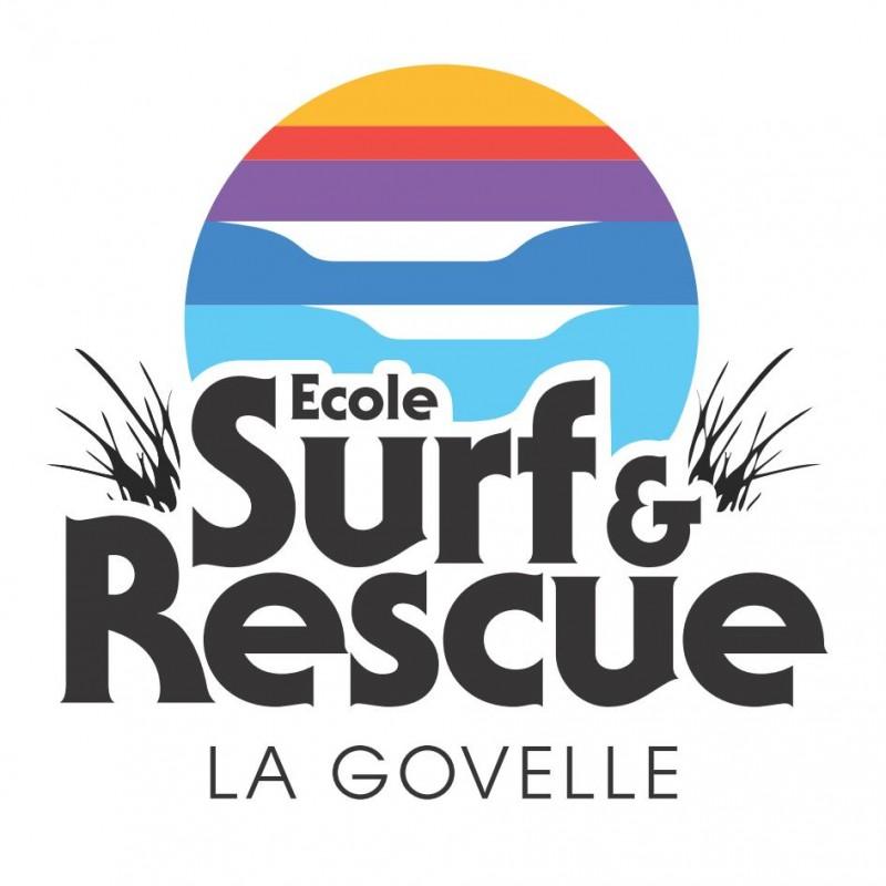 Logo - Ecole de surf and rescue