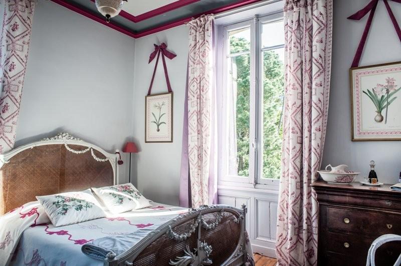 Maison d'hôtes La Guérandière - Guérande - Chambre rose