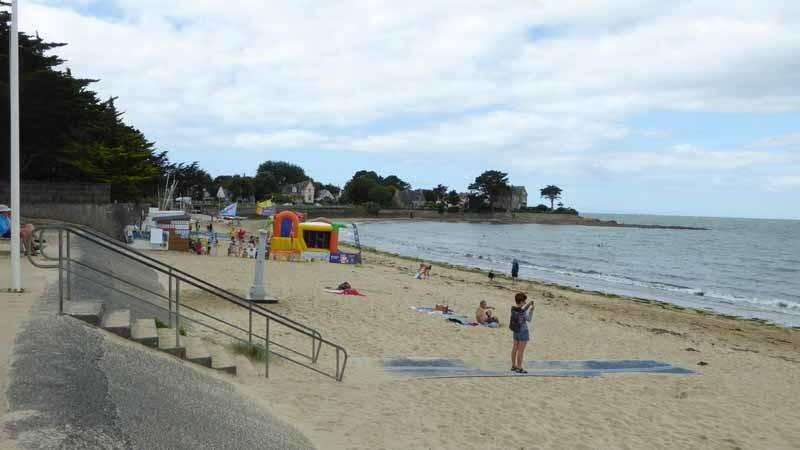 plage de sorlock mesquer quimiac club de plage et poste de secours