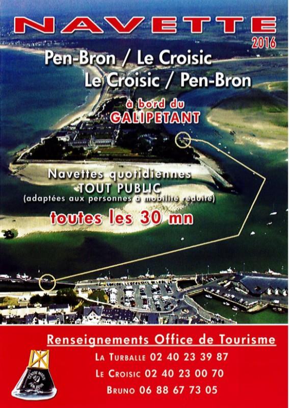 Navette Le Galipetant La Turballe - Le Croisic