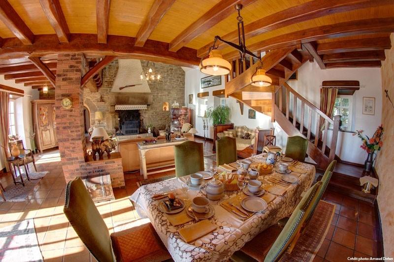 Petit-déjeuner au Manoir des 4 Saisons à La Turballe, Crédit A Drean