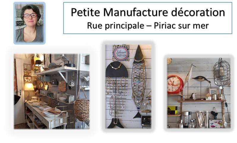La petite manufacture-Présentation boutique à  Piriac sur Mer