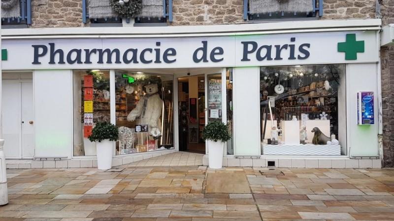 Devanture de la Pharmacie de Paris