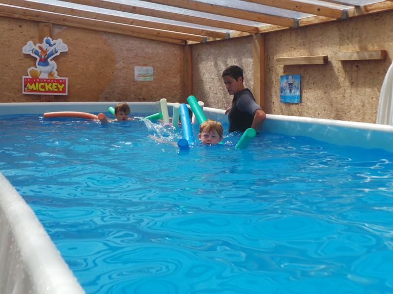 Piscine - Club de plage les Mouettes - plage de Sorlock à Mesquer - Mesquer-Quimiac