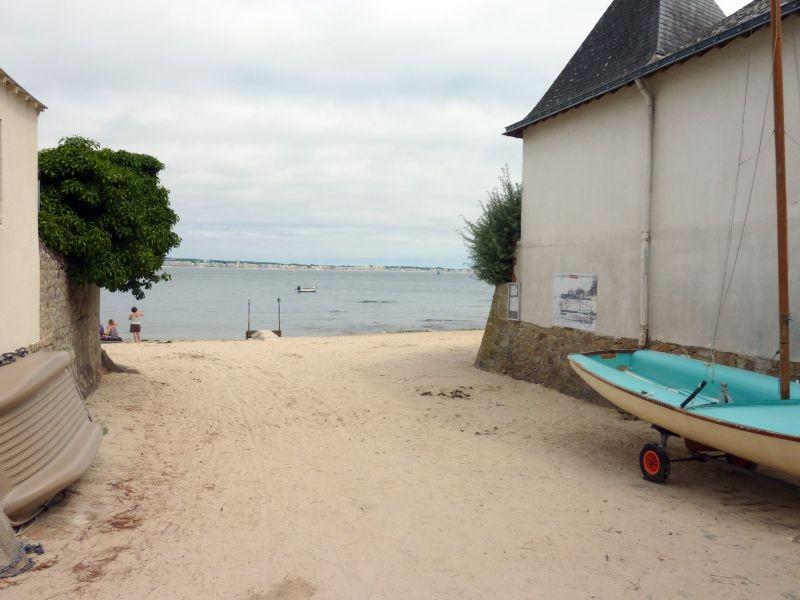 Plage de l'Anse de Toullain au Pouliguen, accès à la plage