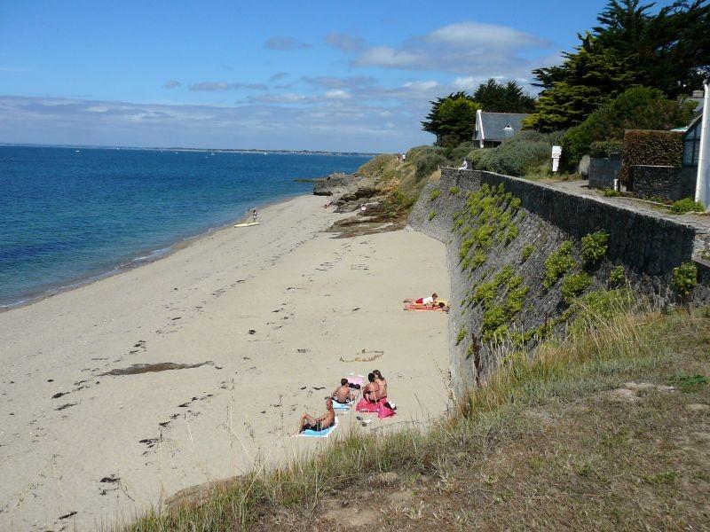 Plage de Port au Loup à Piriac-sur-Mer, instant détente sur la plage