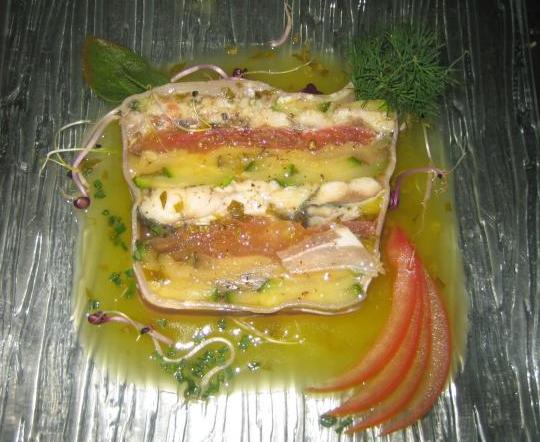 Plat restaurant Le Terminus à La Turballe