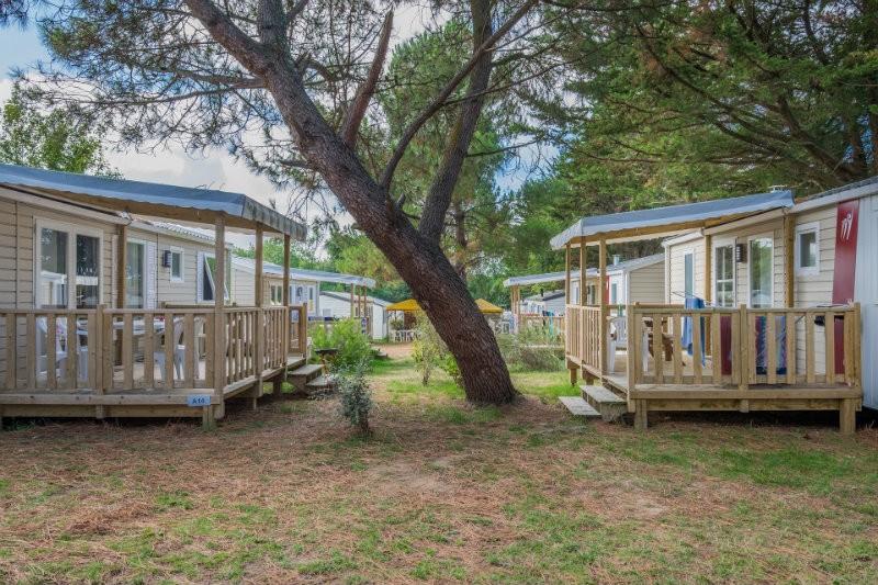 Pornichet - camping les Trois Chênes - mobil home