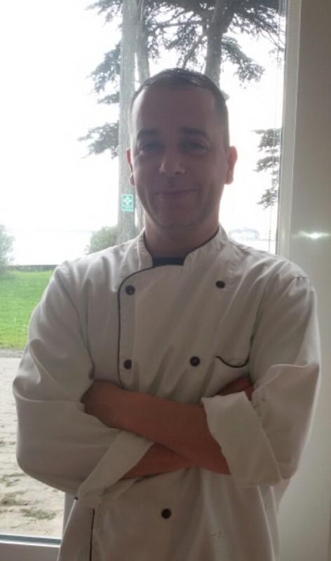 Restaurant de l'hôtel de Pen Bron, Chef Sébastien Messager,  à La Turballe