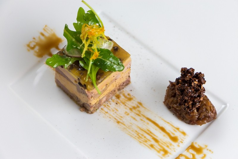 Restaurant Le Carpe Diem à La Baule - Assiette de foie gras