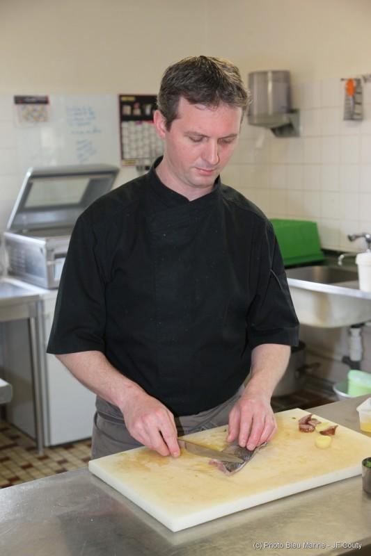 Restaurant Le Carpe Diem à La Baule - Chef Lehuédé