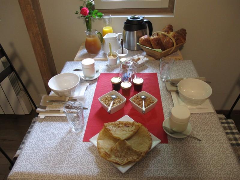 Saint Lyphard - Chambre d'hôtes Ker Holen - Petit-déjeuner